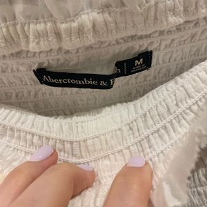 Abercrombie & Fitch Tops - Abercrombie & Fitch White Strapless Tube Top
